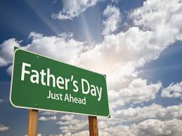 Fathers day road sign